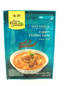 Singapore Chicken Curry [Nonya]  | Buy Online at the Asian Cookshop